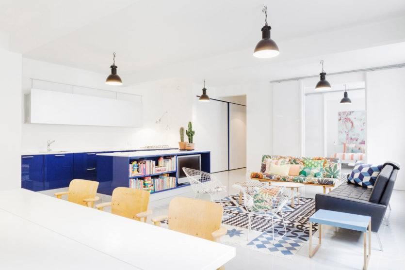 Гостиная в стиле минимализм: простота и функциональность