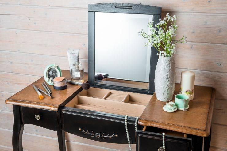 Туалетный столик для спальни — красивые модели в интерьере