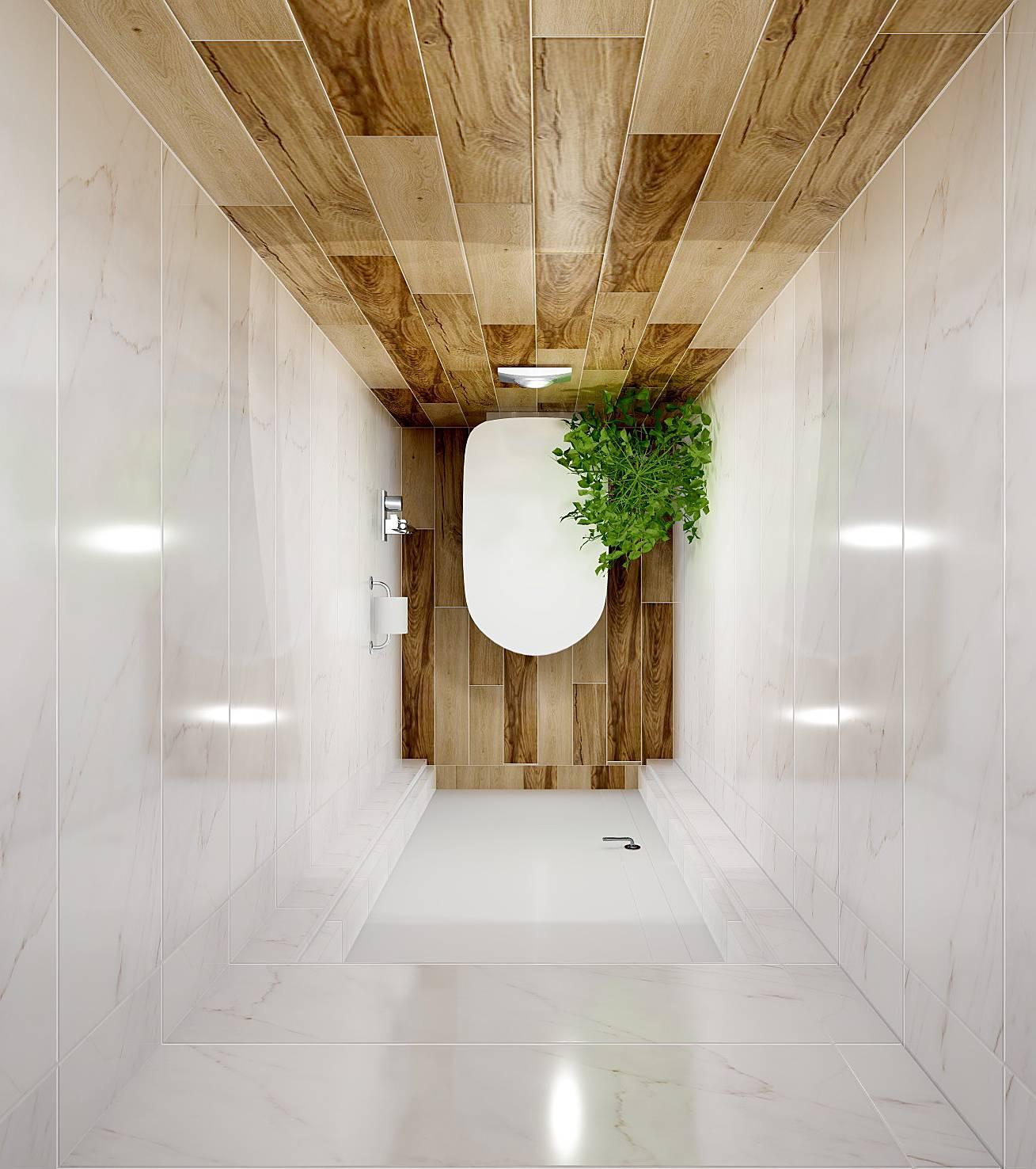 Отделка туалета кафелем (57 фото): особенности выполнения работ