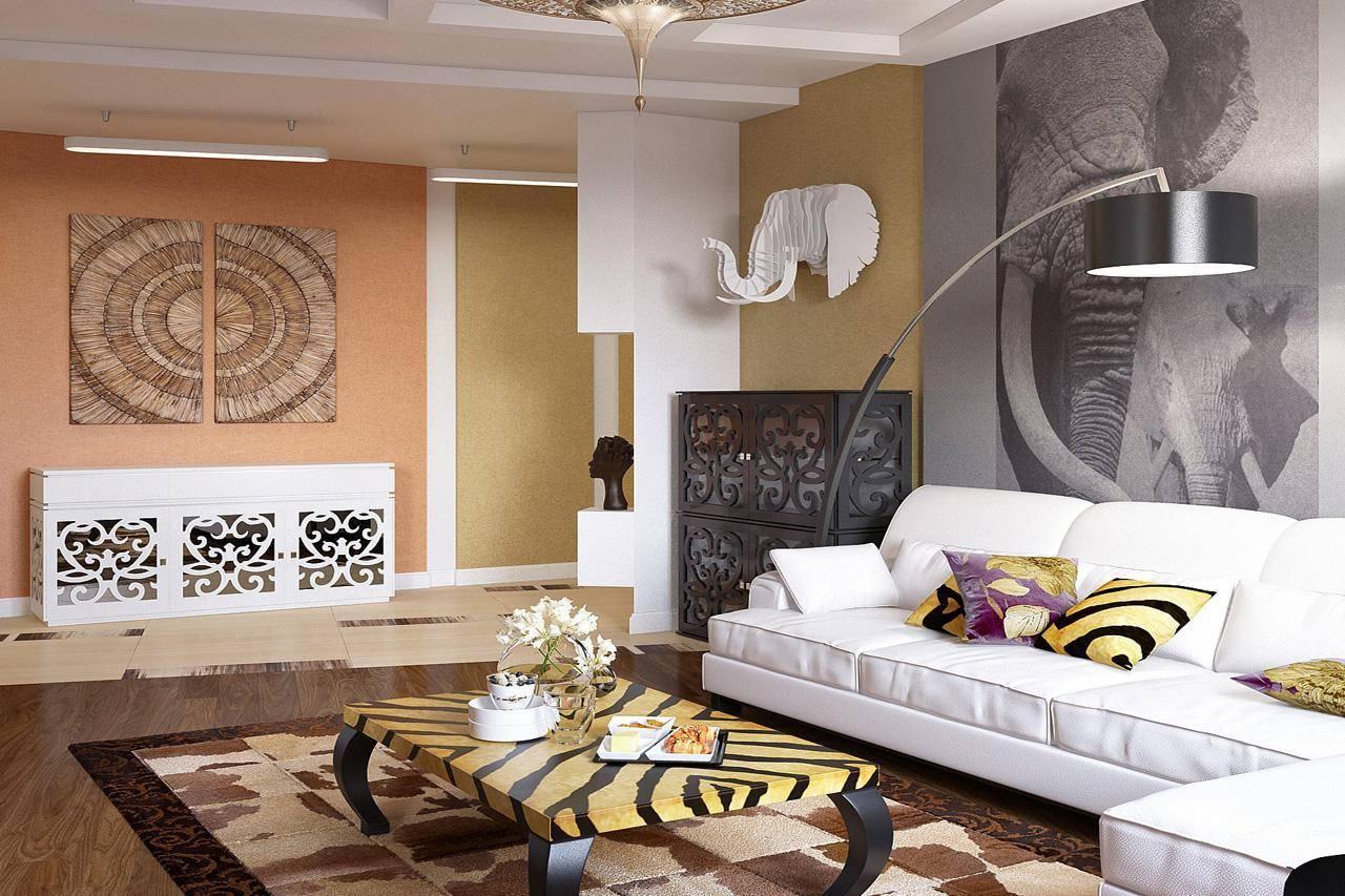 Африканский стиль в интерьере .блог о дизайне