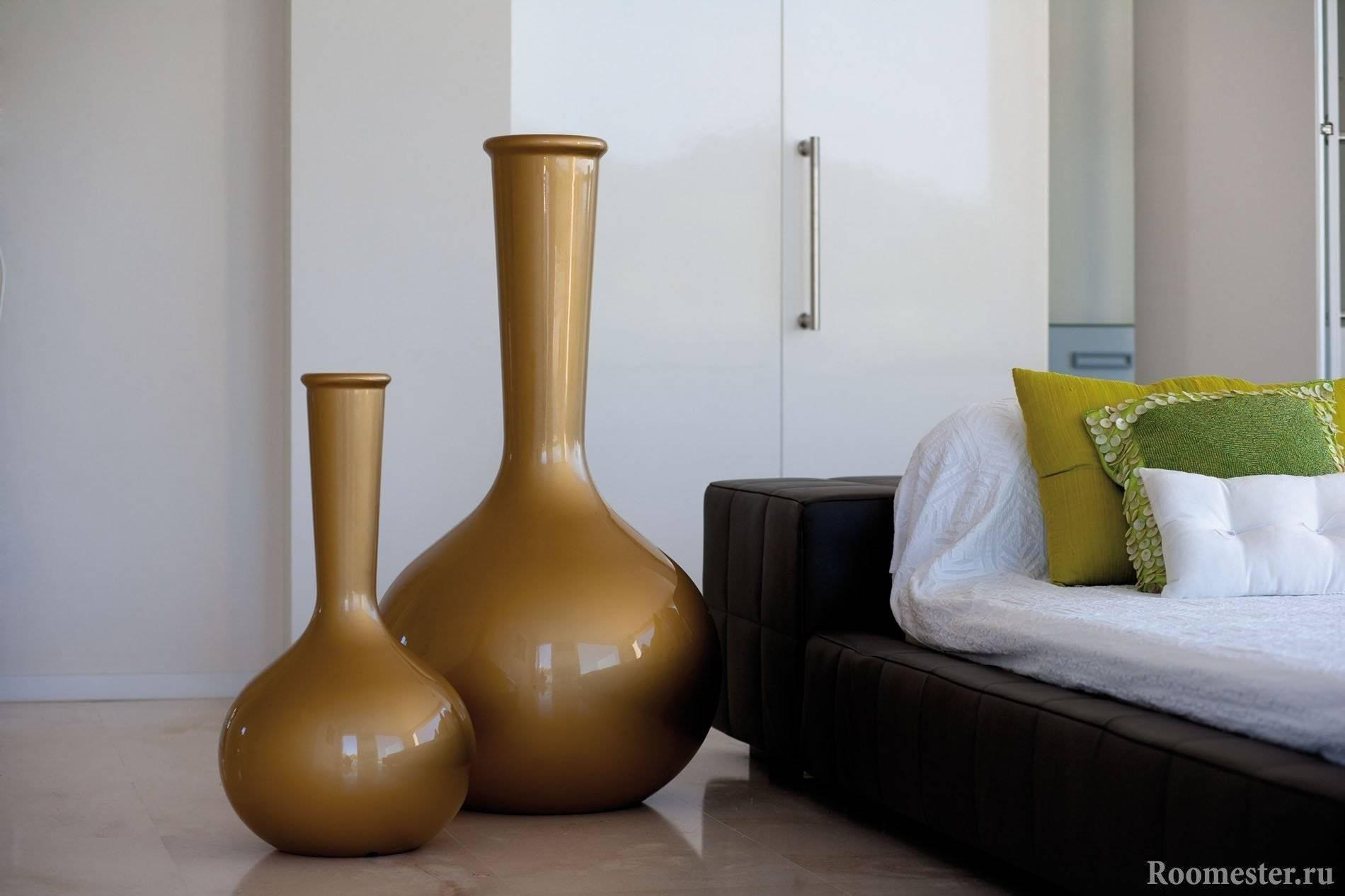 Декор вазы – разные техники создания - 9 фото