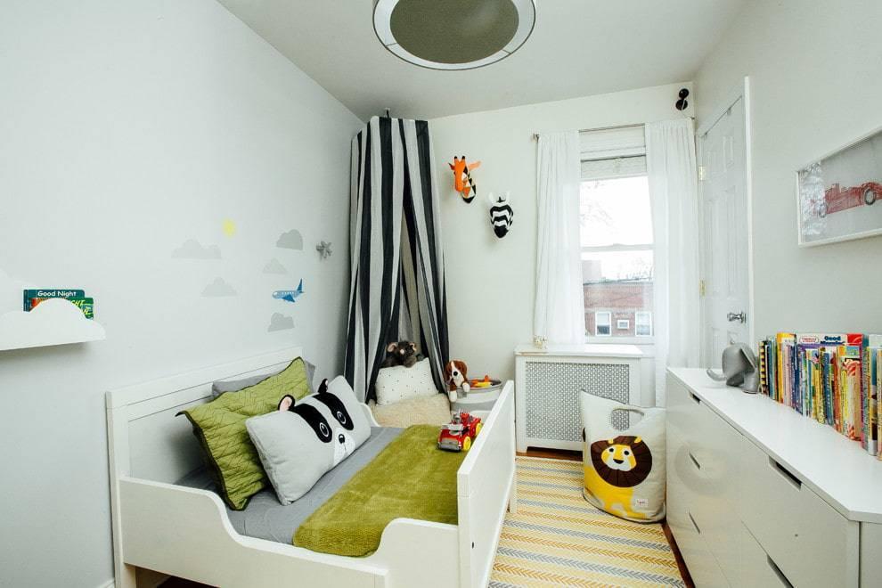 Варианты и методы оформления дизайна детской комнаты площадью 10 кв м