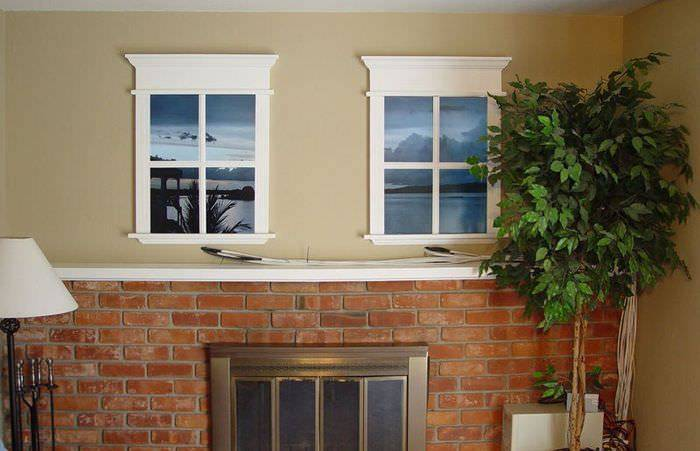 Фальш окно с подсветкой своими руками (6 фото)