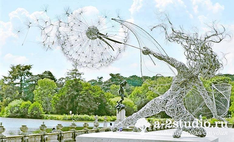 Садовая скульптура в дизайне участка. стили, выбор, расположение. фото — ботаничка.ru