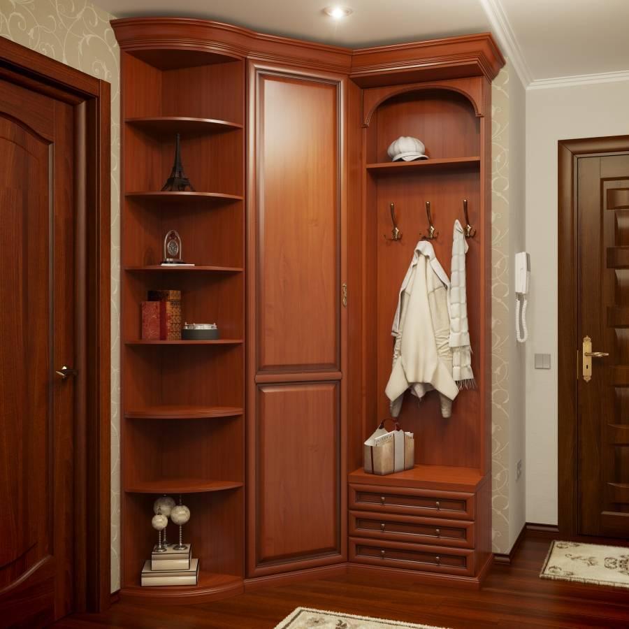Малогабаритная угловая прихожая в коридор: выбираем мебель со вкусом
