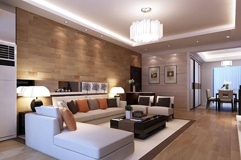 Примеры дизайна интерьера гостиных комнат после ремонта