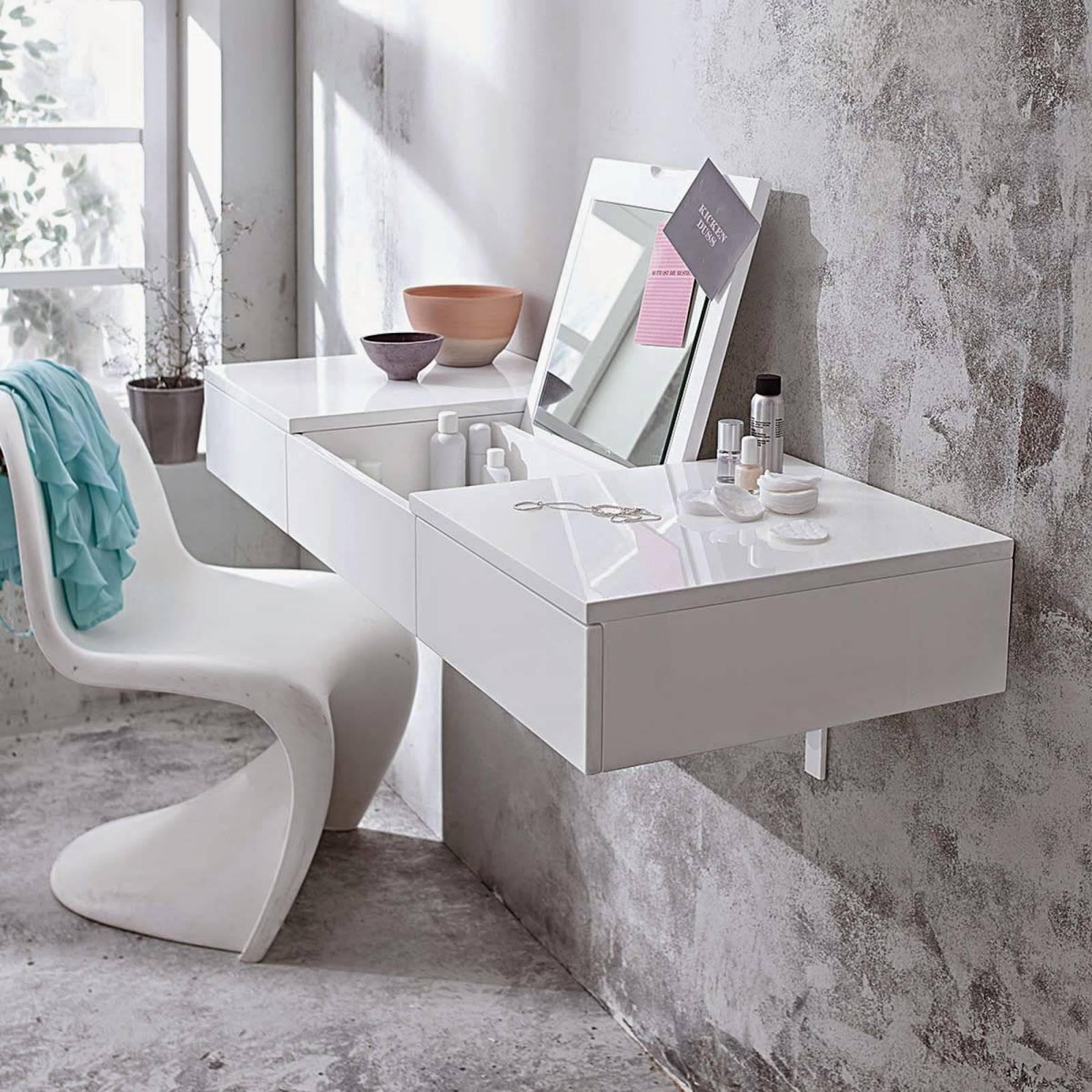 Туалетный столик – особенности современного выбора и актуальные модели сезона (130 фото)