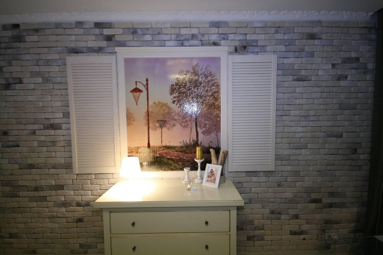 Имитация окна в интерьере или декоративное фальш окно +30 фото