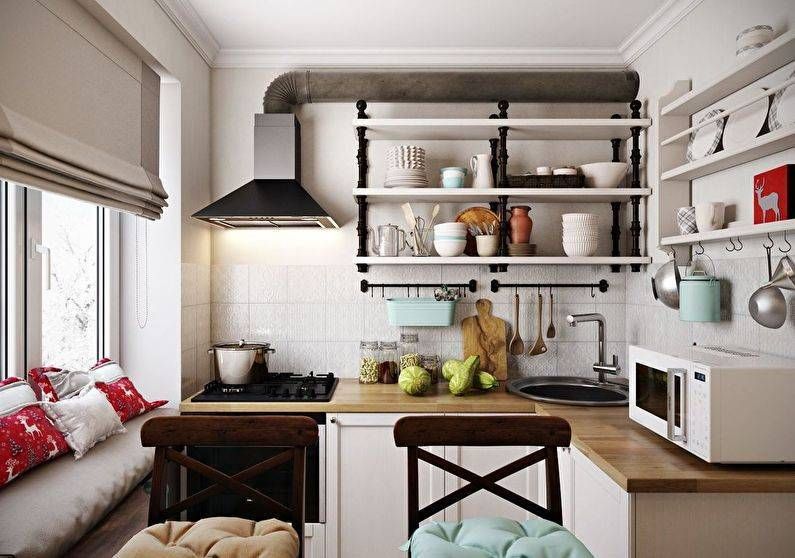 Кухня в стиле кантри (53 фото): душевная простота деревенского быта