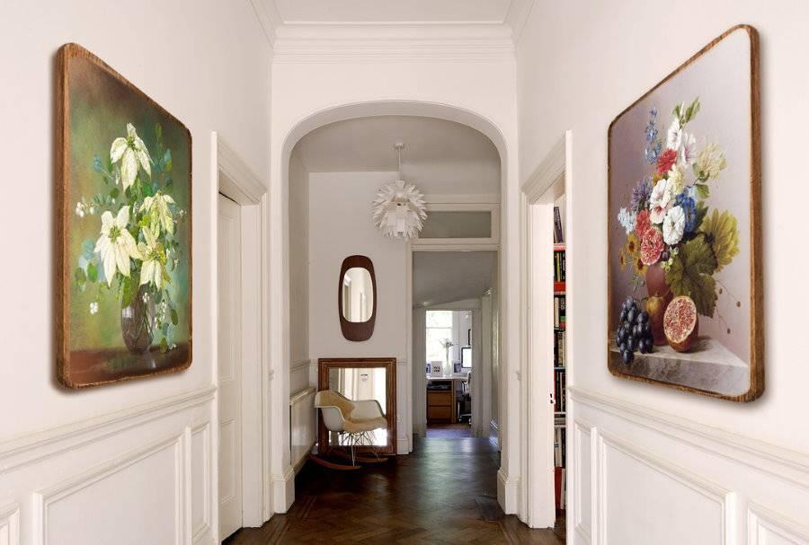 Особенности выбора картин в коридор и прихожую
