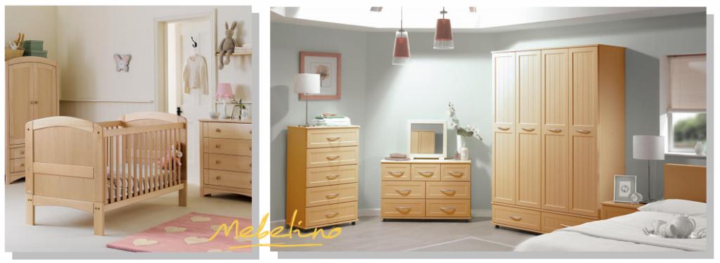 Примеры выбора мебели из массива в интерьер детской комнаты