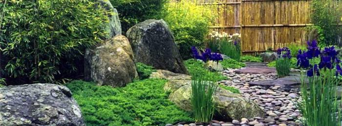 Использование декоративных камней в ландшафтном дизайне сада