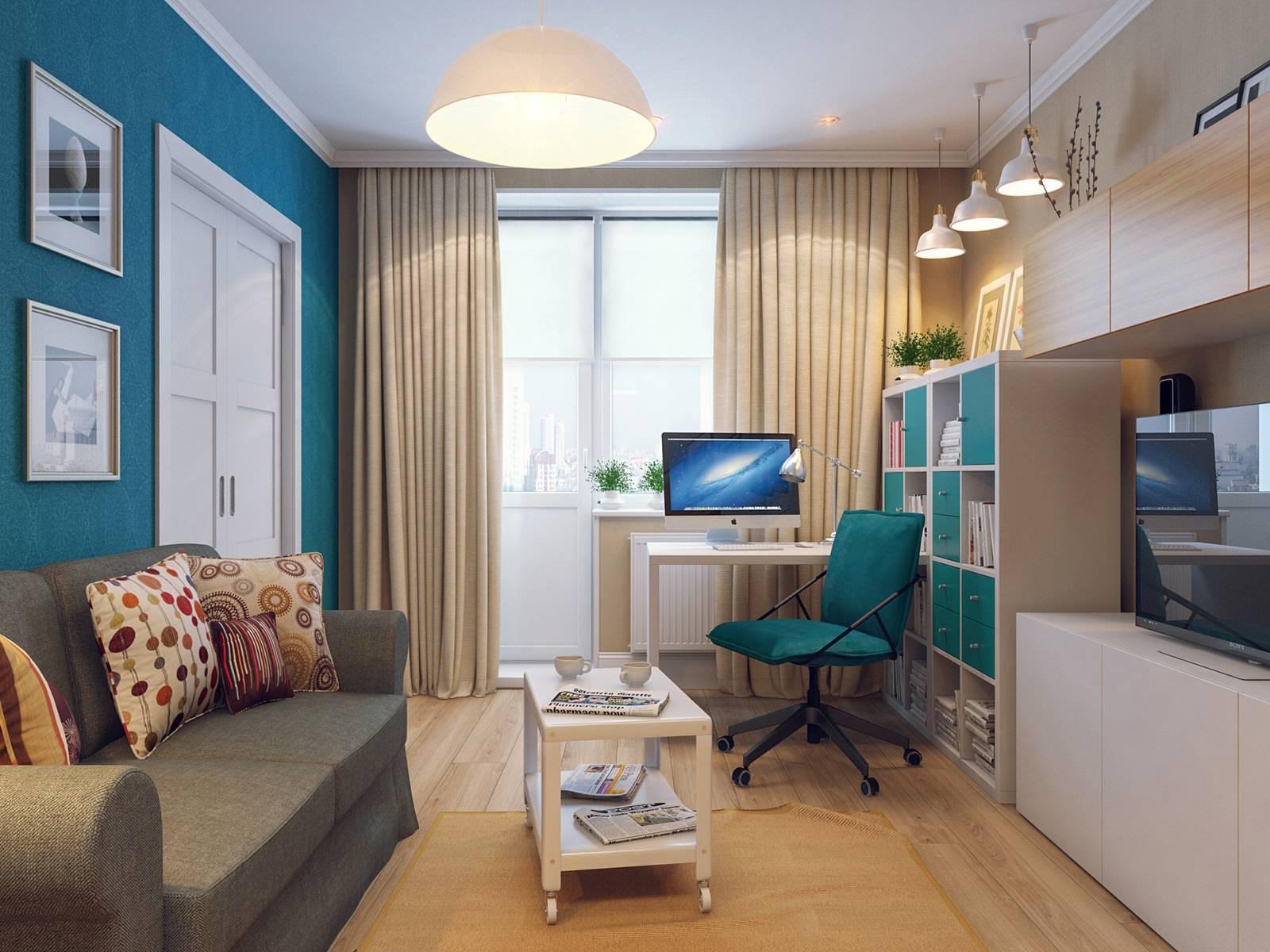 Расстановка мебели в однокомнатной квартире: полезные советы, частые ошибки и нюансы