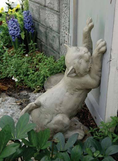 Садовые скульптуры (71 фото): парковое изделие из бетона и дерева, модели из гипса и полистоуна