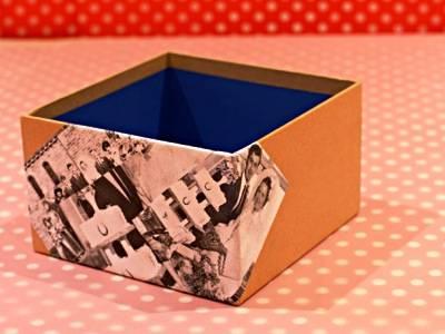 Декупаж картонных, деревянных и пластиковых коробок - понятные мастер-классы, фото идеи и советы