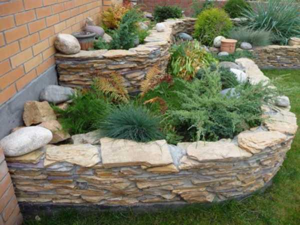Камни в ландшафтном дизайне – сфера применения