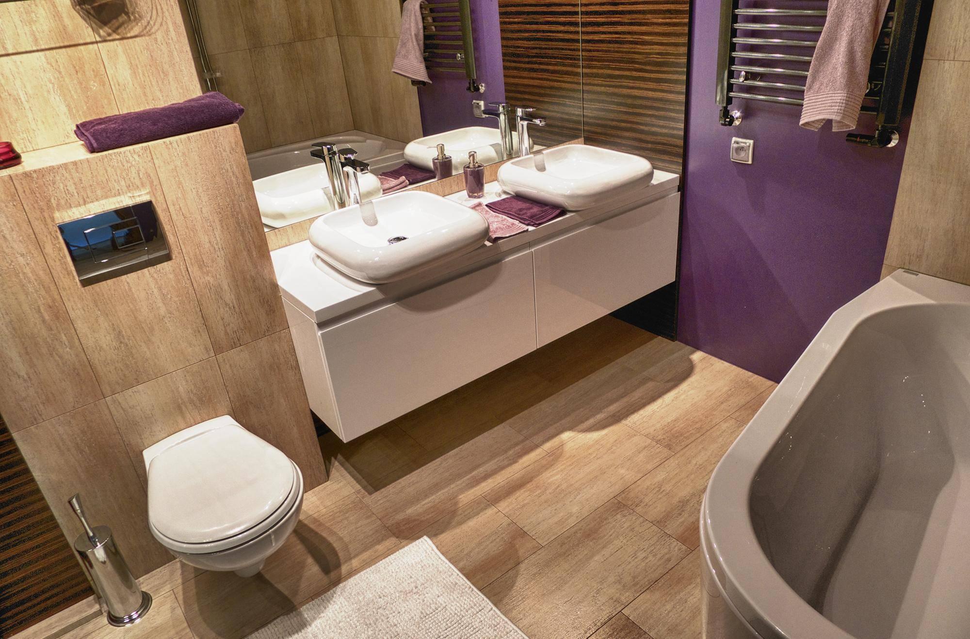 Красивая и удобная планировка ванной комнаты — советы по созданию интерьера