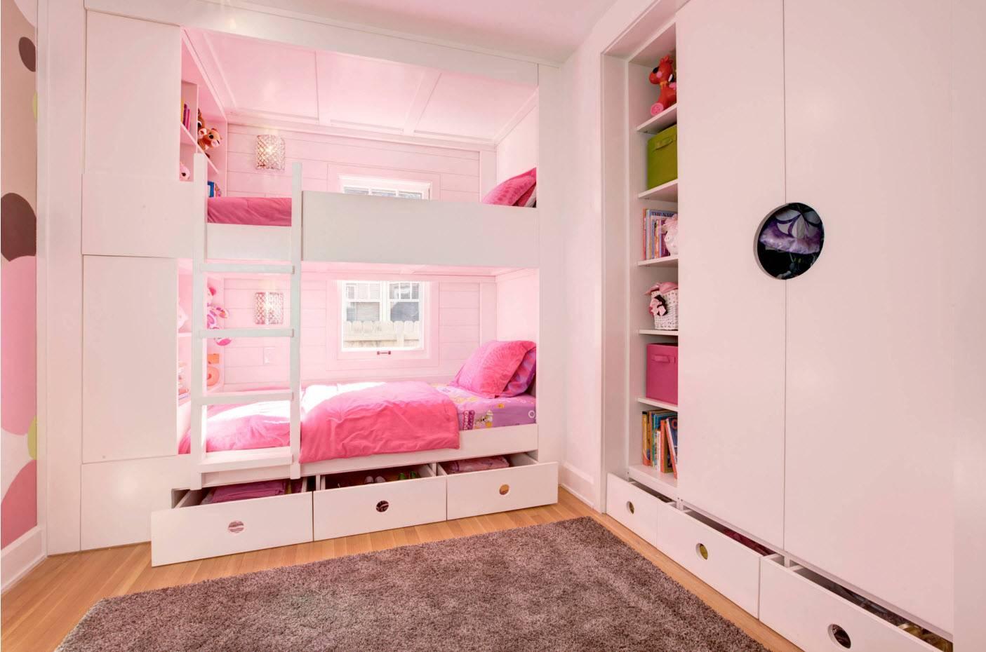 Мебель для детской комнаты, основные требования к изделиям
