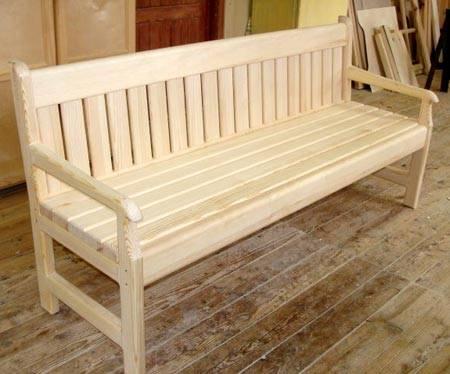 Как сделать скамейку для сада - пошаговая схема сборки. варианты конструкций: простая скамейка, классическая, складная скамейка для дачи, металлическая скамья
