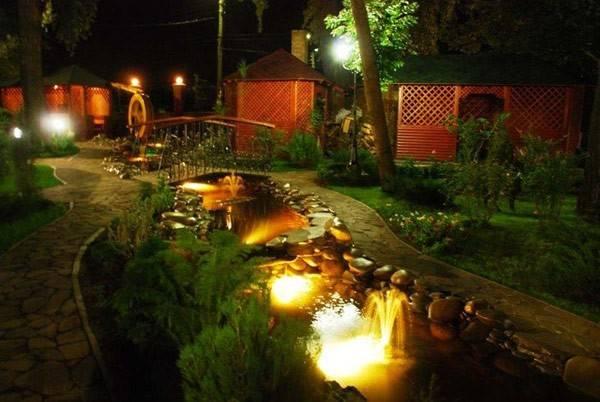 Ландшафтное освещение: что и как подсветить в саду
