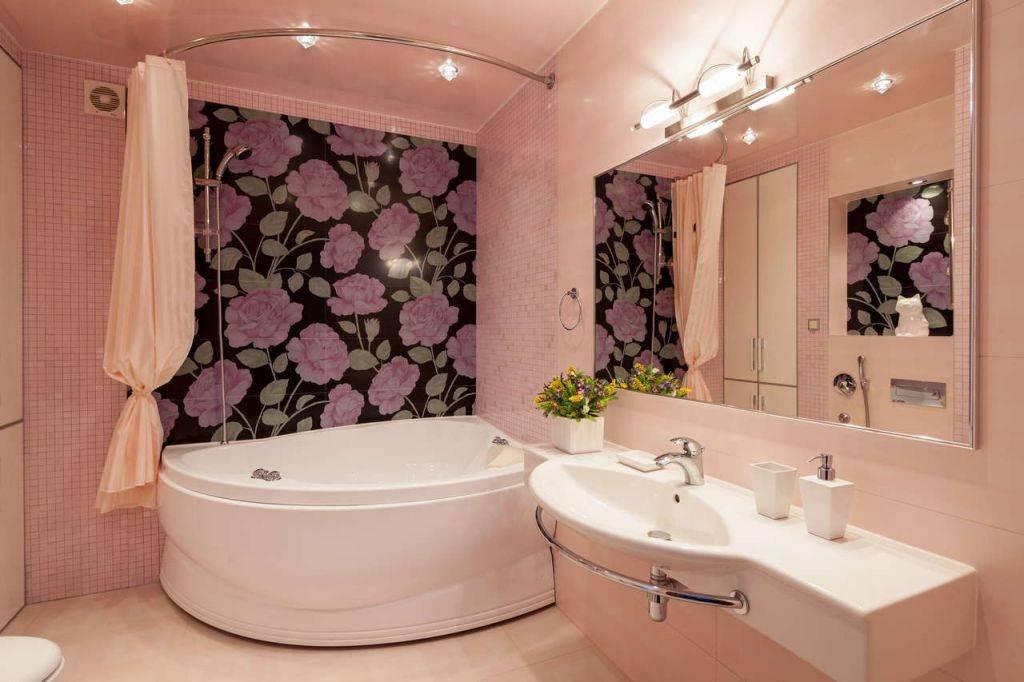 Угловая ванна в интерьере: 50+ фото, идеи дизайна
