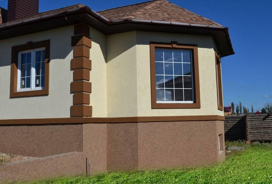 Красивые фасады одноэтажных домов