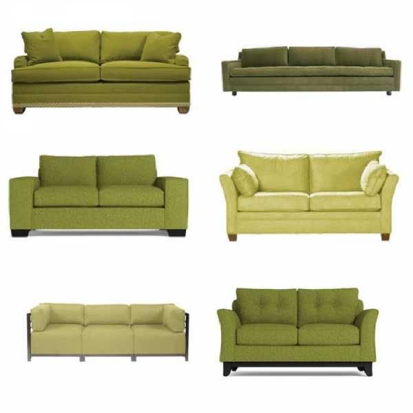 Желтый диван в интерьере - 90 фото с советами по дизайну