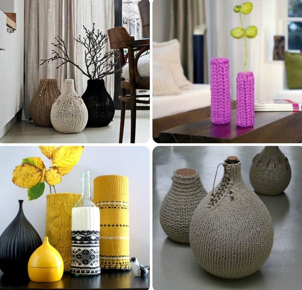 Декор вазы - советы и рекомендации по оформлению вазы (120 фото и видео)
