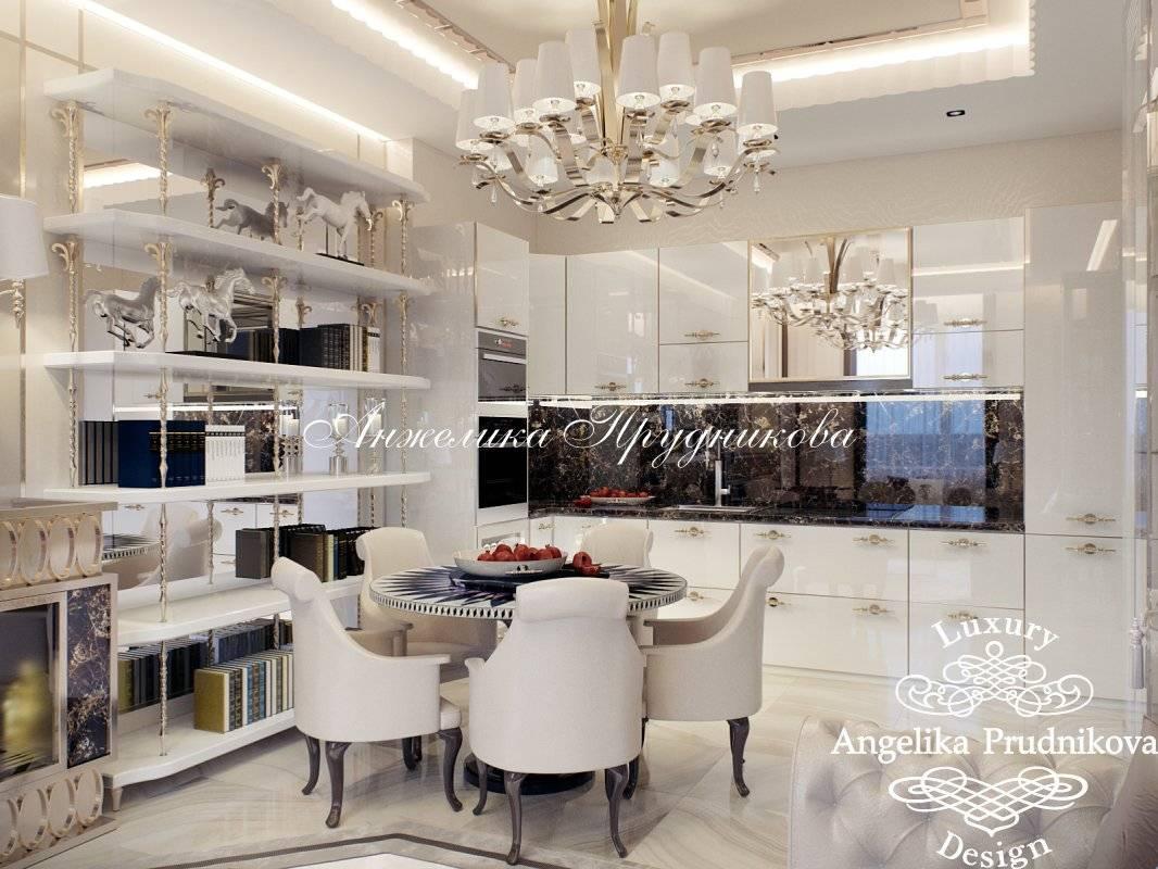 Гостиная в стиле арт-деко - 75 фото необычного дизайна гостиной