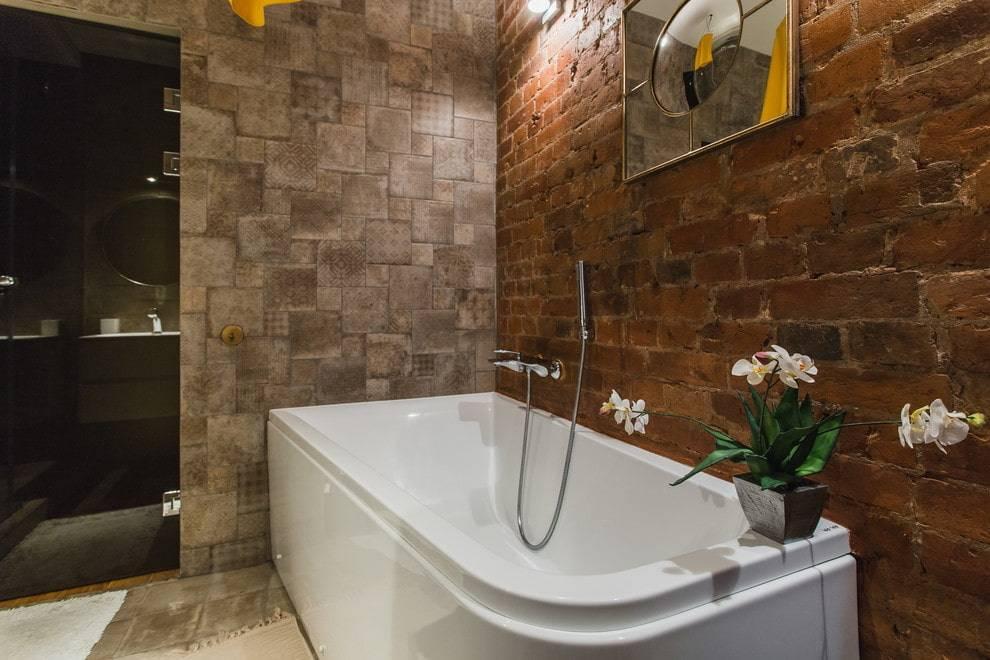 Ванная в стиле лофт 2017 – 47 фото и идеи дизайна интерьера | the architect