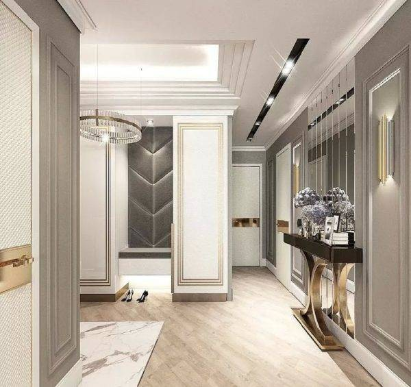 Плитка на пол в коридор (54 фото): керамическая напольная плитка для прихожей, что лучше выбрать для дизайна, кафель и ламинат, варианты в интерьере 2021