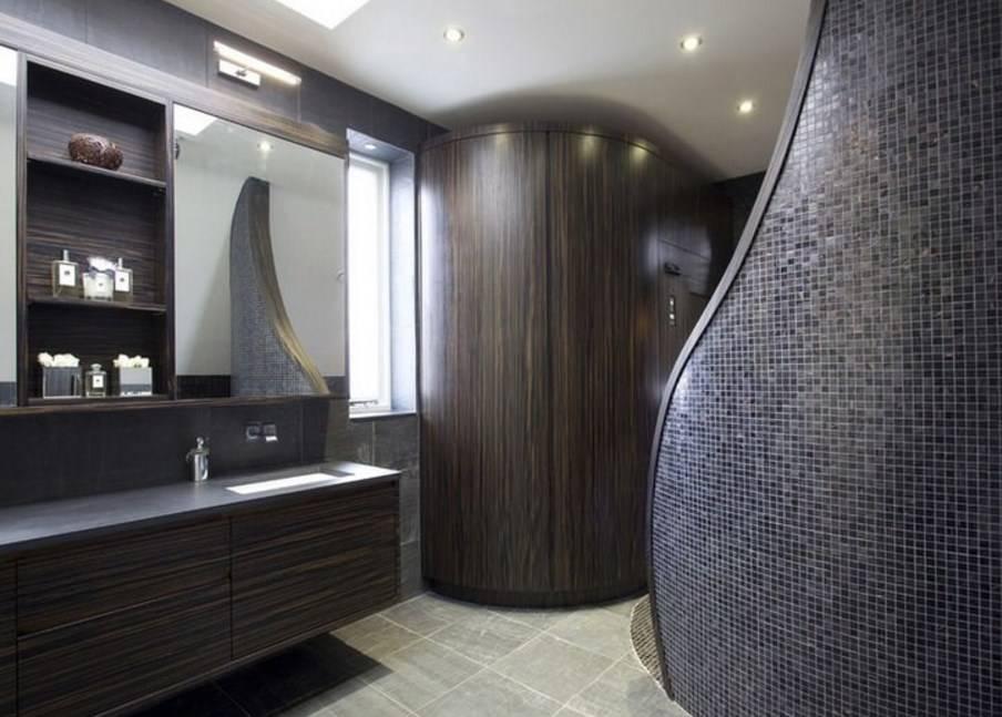 Ванная в стиле минимализм: дизайн маленького помещения санузла, выбор плитки