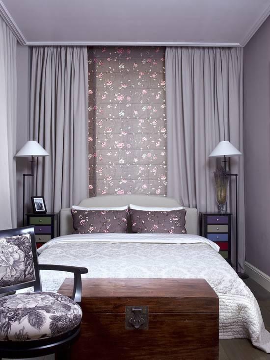 Дизайн интерьера спальни 9 кв.м. - 70 фото и идей