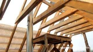 Как сделать двухскатную мансардную крышу – пошаговое руководство