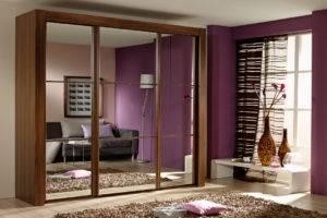 Современные шкафы в спальню (110 фото): встроенные, радиусные, большие и маленькие шкафы