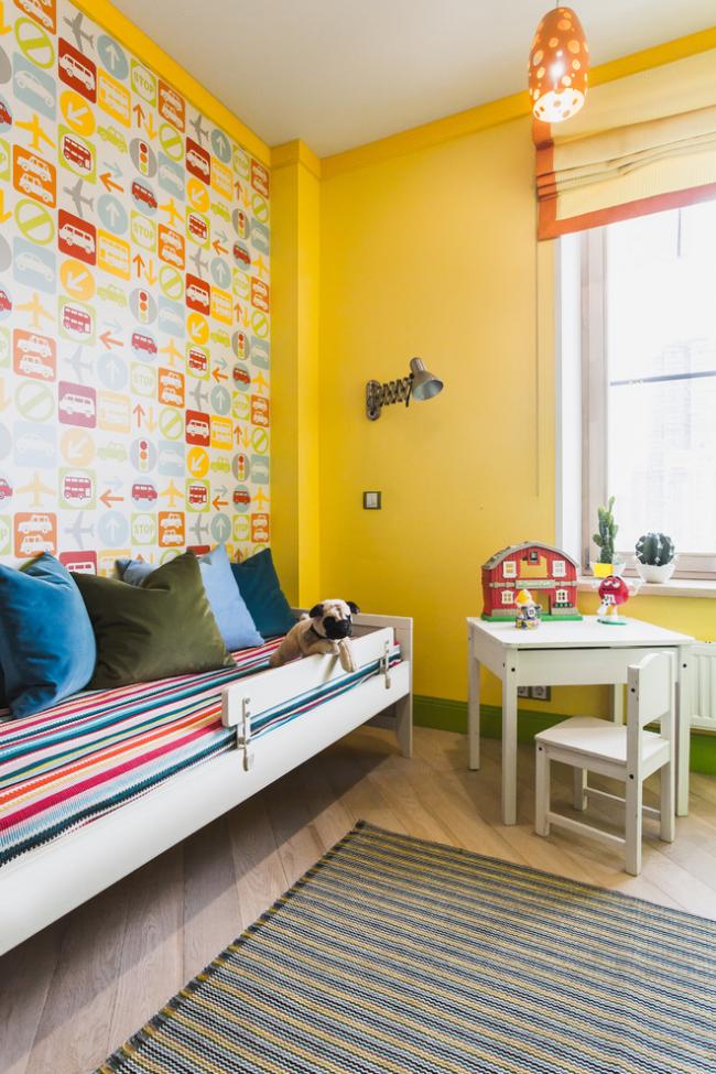 25 интерьеров однокомнатных квартир с детской
