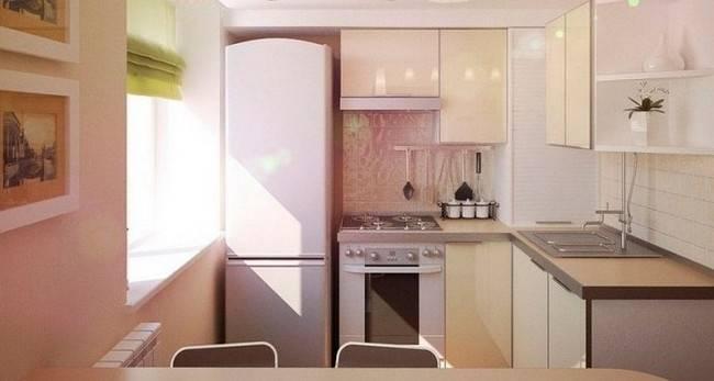 Кухня 3 на 3 метра: планировка, дизайн интерьера и фото