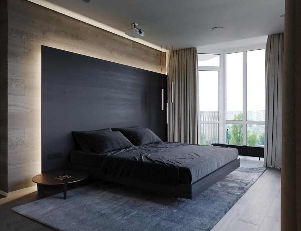 Спальня модерн - 135 фото стильных интерьеров с лучшими идеями декора