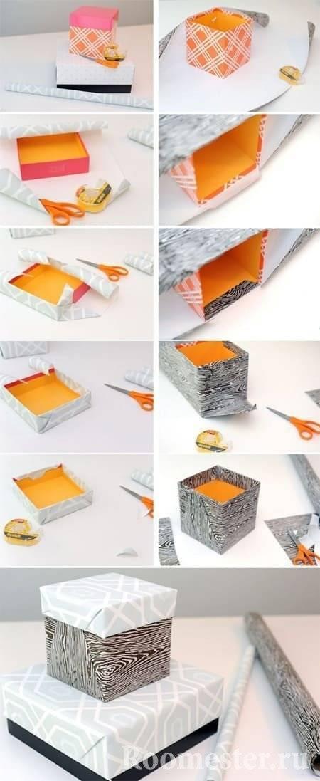Как сделать коробочку своими руками - 70 фото идей необычных коробок