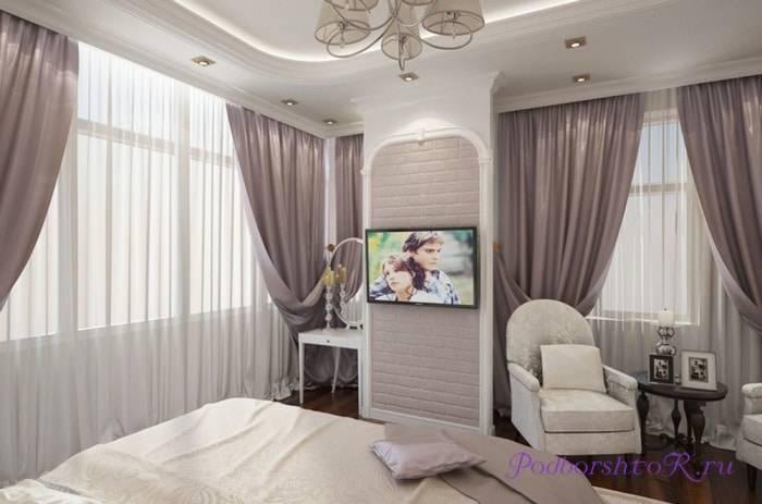 Дизайн окна в спальне - обзор готовых идей и новинок (200 фото)