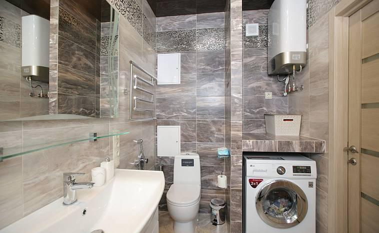 Дизайн ванной комнаты 3 кв. м (30 реальных фото)