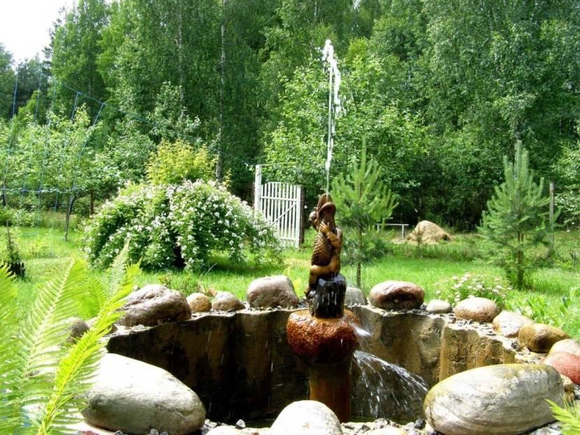 Как сделать декоративный водопад или фонтан для дачи?