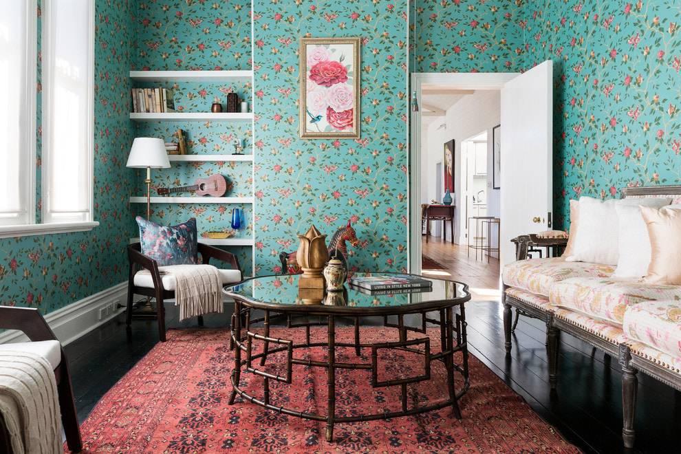 Бирюзовый диван в интерьере: виды, материалы обивки, оттенки цвета, формы, дизайн, сочетания
