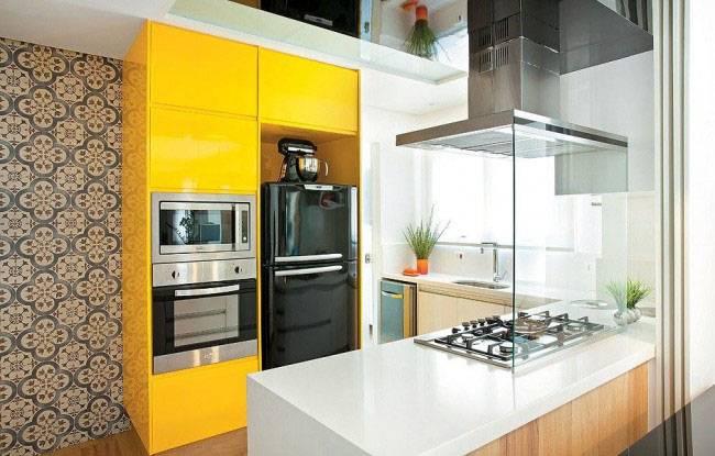 60 фото! кухни желтого цвета
