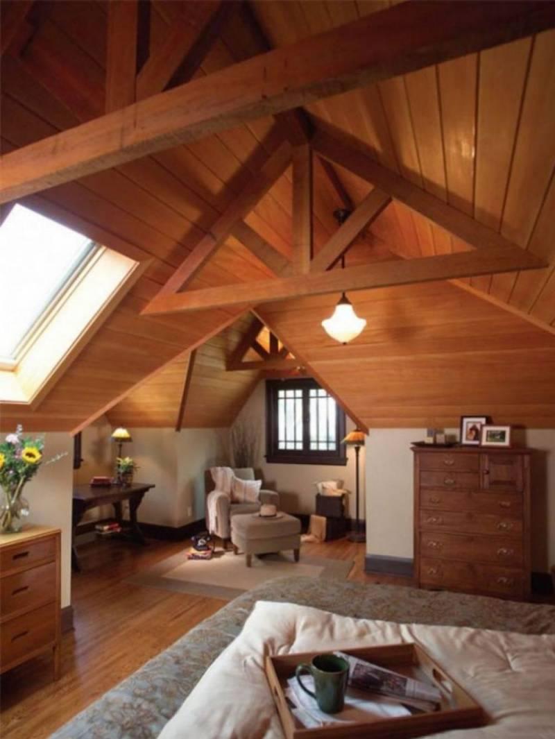 Мансардная крыша частного дома: строение конструкции, стропильной системы, инструкция, видео и фото