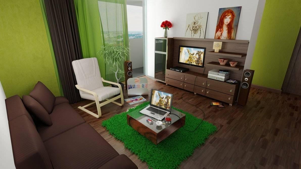 Зеленые обои: фото в интерьере, лучшие идеи сочетания, лучшие советы дизайнера по выбору и оформлению :: syl.ru