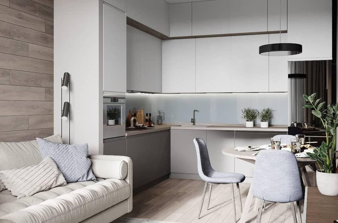 Дизайн кухни 15 кв. м. — выбираем подходящий вариант