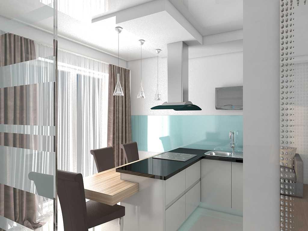 8 типов перегородок между кухней и гостиной - как разделить раздвижными дверями, разделение зон перегородкой из гипсокартона, дизайн кухни-гостиной со стеклянной перегородкой, как отгородить аркой, декоративной стеной, камином, барной стойкой, мебелью