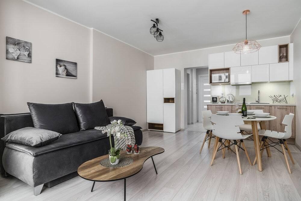 Кухонные прямые диваны: со спальным местом, с ящиком, виды, советы по выбору, фото.