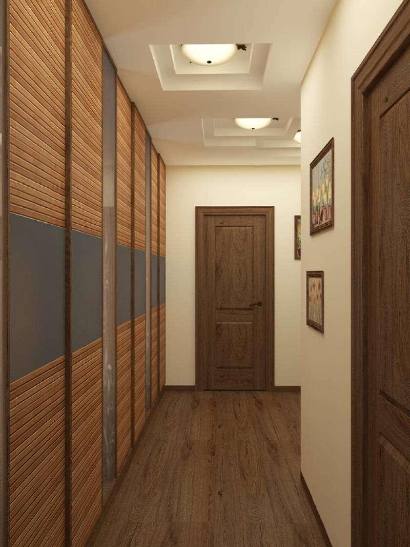 Длинный узкий коридор: дизайнерские хитрости, которые помогут максимально  «расширить» пространство